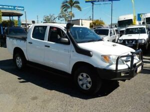 2006 Toyota Hilux KUN26R MY07 SR White 5 Speed Manual Utility Coopers Plains Brisbane South West Preview