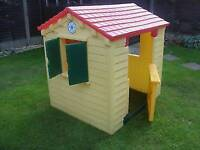 Little tikes playhouse, wendy house