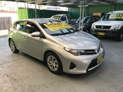 2013 Toyota Corolla ZRE182R Ascent Silver 7 Speed CVT Auto 7 Speed Hatchback