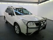 2015 Subaru Forester MY14 2.0D White 6 Speed Manual Wagon Albion Brimbank Area Preview