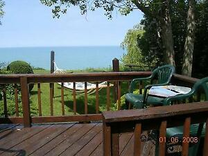 Lake Front Grand Bend Cottage