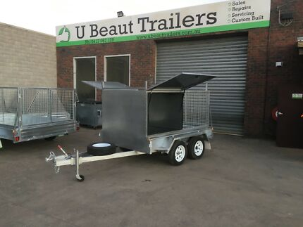 8x5 Tandem Trailer Tradesman Galvanised 1/2 Tradie Caged 1000mm Seaford Frankston Area Preview