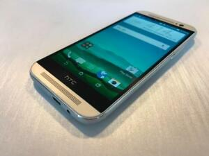 HTC ONE M8 32GB Silver - UNLOCKED - READY TO GO - Guaranteed Activation + No Blacklist