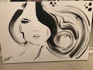 Hair Envy Canvas Art Punchbowl Canterbury Area Preview