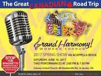Grand Harmony Chorus presents: The Great Canadian Road Trip