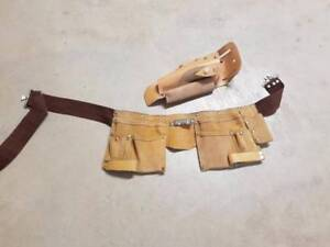 Tool belt with nail pockets (leather) Joondalup Joondalup Area Preview