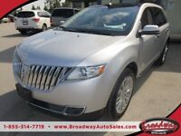2013 Lincoln MKX LOADED ALL WHEEL DRIVE 5 PASSENGER LEATHER.. HE