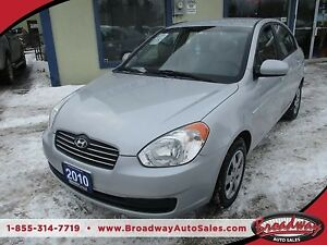 2010 Hyundai Accent 'GREAT VALUE' WELL EQUIPPED '5-SPEED MANUAL'