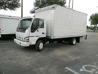 2007 Gmc W4500   Isuzu Npr Hd   16Ft Box Truck   Lift Gate   Diesel   Low Miles