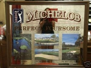 Wanted.  Michelob golf mirror