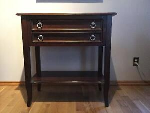 Cherry Wood Accent Table