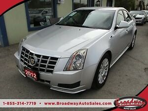 2012 Cadillac CTS LOADED `SPORTY`5 PASSENGER 3.0L - V6.. LEATHER