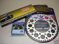 New 41 15 T THC O Ring Chain And Renthal Sprocket Kit DRZ 400 SM S E 00-17