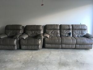 Electric Leather Reclining Sofas Samford Valley Brisbane North West Preview