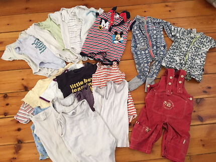 Boys Clothes - Size 0-1 -23 items