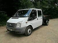 Ford transit steel tipping body