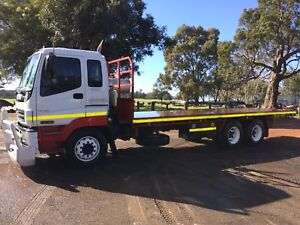 Isuzu 2007 giga 385hp 6x4 traytop with trailer hitch