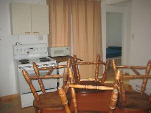 *PLATEAU - 4 1/2 appartement meublé- furnished apartment*