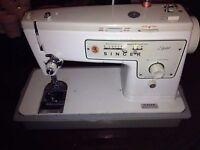 singer 413 sewing machine, gear driven :)