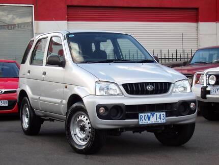 2002 Daihatsu Terios DX 4x4 *** LOW KMS *** $5,650 DRIVE AWAY
