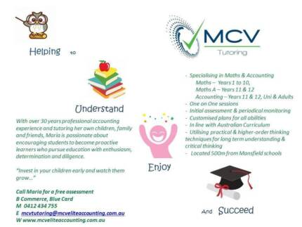 MCV Tutoring