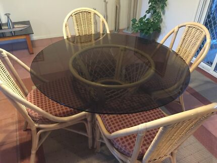 Cane Dining Suite For Sale Dining Tables Gumtree Australia