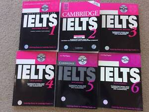 6 Pieces of Cambridge IELTS Books with all CDs Queanbeyan Queanbeyan Area Preview