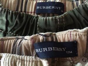 BURBERRY baby boys' pants **LIKE NEW**