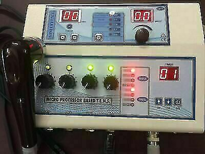 Electrotherapy Physio Mc Combo Ultrasound Therapy Unit 1 Mhz And 4 Channel Tens