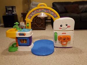 Fisher price play and learn kitchen