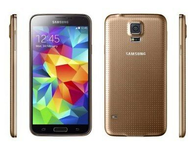 The Samsung Galaxy S5 Gold