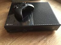 Xbox One Console boxed with One Controller