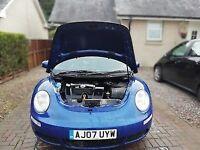 2007 Volkswagen Beetle 1.6 Luna Manual, 102 HP , Long MOT , Great looking car