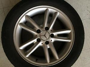 Mercedes mags on summer tires