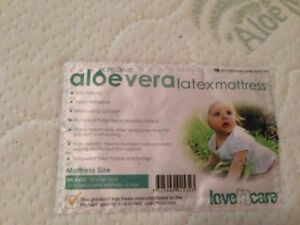 Organic latex cot mattress Nerang Gold Coast West Preview