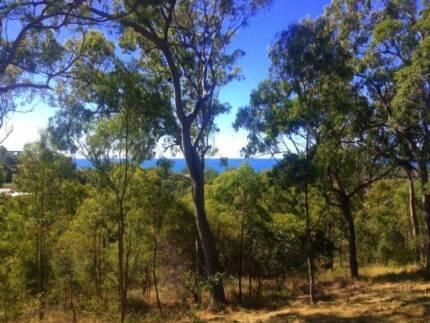 Magnificent partial 180degree  ocean views at Agnes Water, Qld