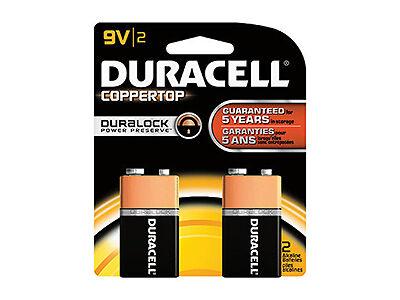 Duracell Coppertop 9V Battery