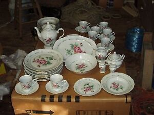 VINTAGE VICTORIAN ROSE CHINA BY GIBSON