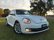 2013 Volkswagen Beetle 1L MY14 Coupe DSG White 7 Speed Sports Automatic Dual Clutch Liftback Somerton Park Holdfast Bay Preview