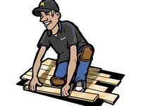 Experienced laminate and tile installer