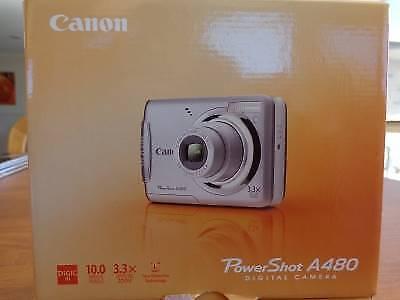 Canon A480 digital camera