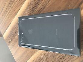 IPhone 7 Plus 256 GB Jet black Unlocked Sealed