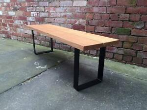 Outdoor Hardwood Timber Dining Bench- Made to Order