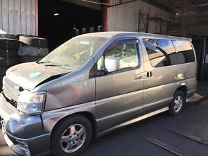 Nissan elgrand spares wrecking e50 highway star Kingswood Penrith Area Preview