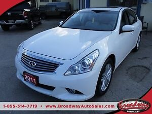 2011 Infiniti G37X LOADED ALL-WHEEL DRIVE 5 PASSENGER 3.7L - V6.