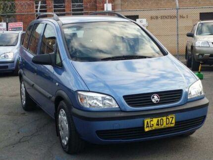 2004 Holden Zafira TT ** Low 165,000 Kms * 4 Speed Automatic Wagon