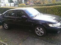 Saab car black