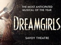 2 x Dreamgirls tickets (Savoy Theatre) Row C in stalls (Amber Riley will be performing on the night)