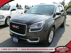 2015 GMC Acadia LOADED SLE-2 MODEL 8 PASSENGER 3.6L - V6.. AWD..
