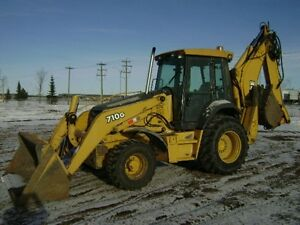 2004 JOHN DEERE Backhoe Loader 710G